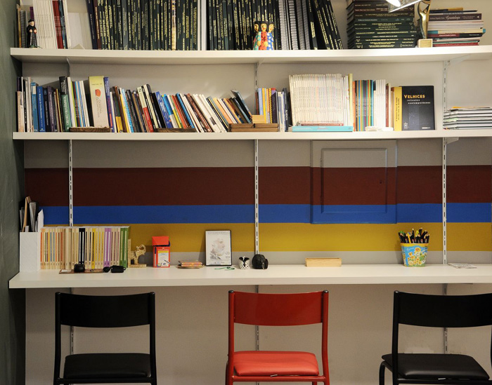 Projetos diferentes para o home office colorido