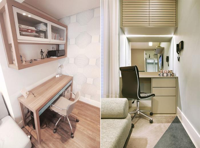 Projetos diferentes para o home office clean