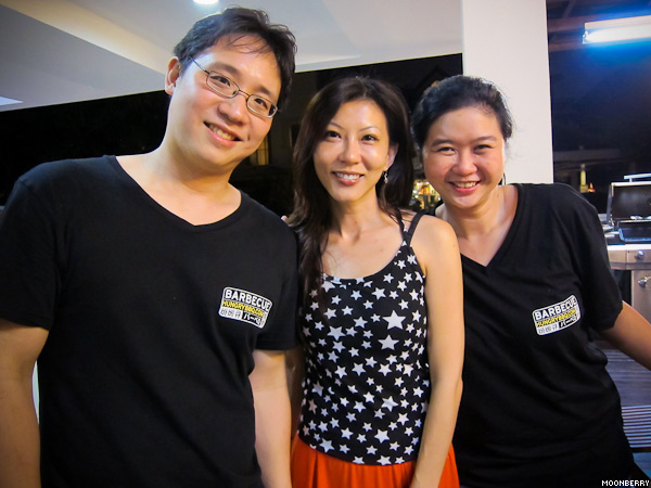 Singapore's Hottest Celebrity Blogger   Hungry BBQ