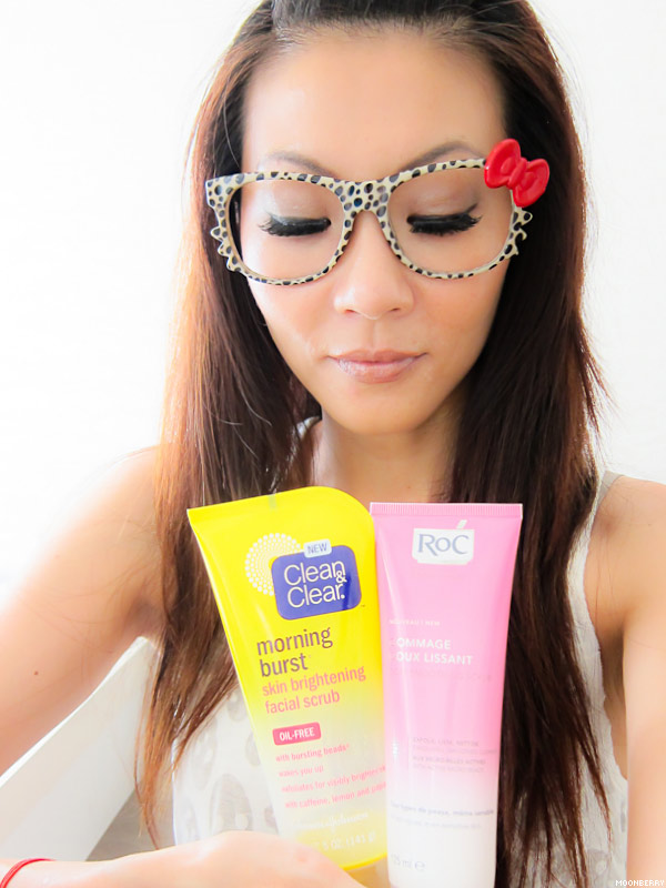 Singapore's Top Celebrity Blogger   Facial Scrub
