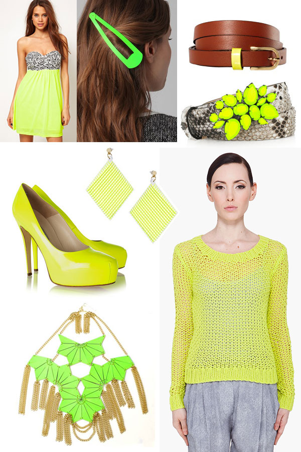 Neon Green | The Moonberry Blog