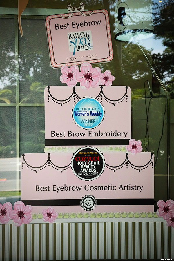 Erabelle Eyebrow Embroidery | The Moonberry Blog