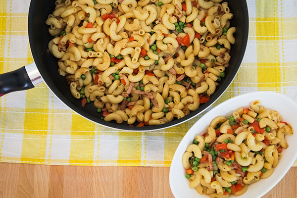 Macaroni Stir Fry | The Moonberry Blog