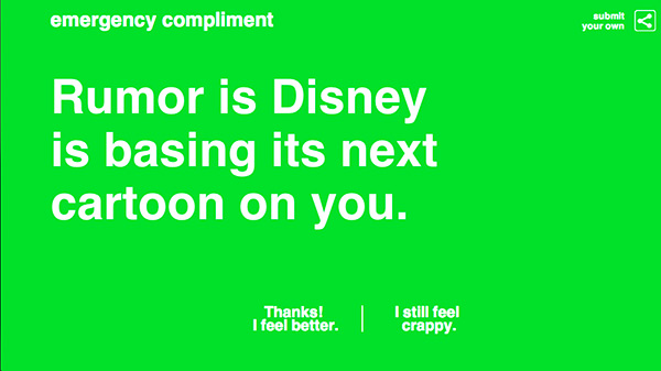 Emergency Compliment