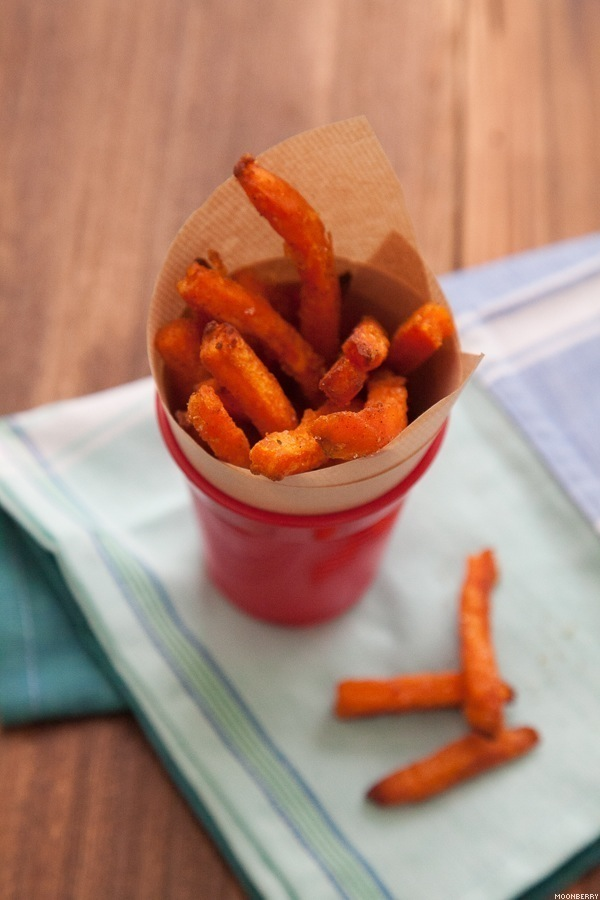 sweet potato fries using tefal actifry the moonberry blog. Black Bedroom Furniture Sets. Home Design Ideas