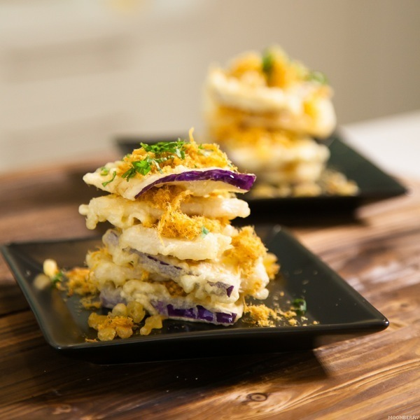 Recipe tempura eggplant and mountain yam with pork floss the singapore top lifestyle blogger food cooking recipe forumfinder Choice Image
