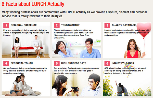 Lunch matchmaking singapur