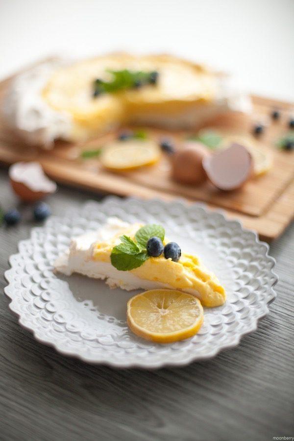 Upside Down Lemon Meringue Pie x The Moonberry Blog