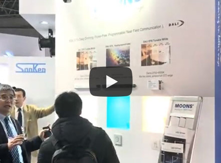 MOONS' LED Drivers in 2018 Tokyo Big Sight Lighting Exhibition
