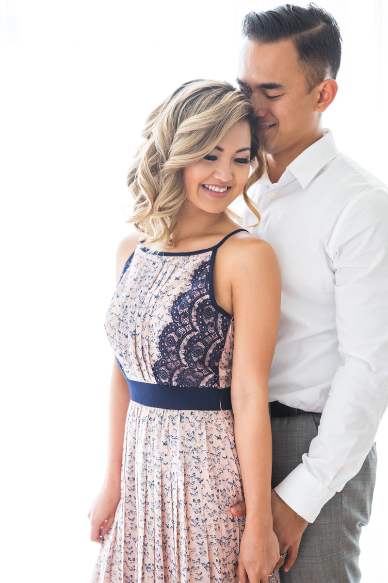valentine fashion, couple photoshoot, romantic clothes, cute clothes for women, engagement outfits, morning lavender