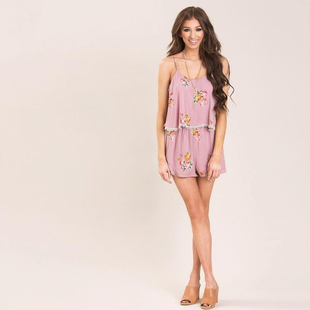 love this pink layered romper from this weeks latest newarrivals!hellip