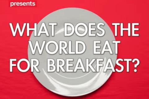 用早餐環遊世界 來看看各國都吃什麼樣的早餐開始每一天!