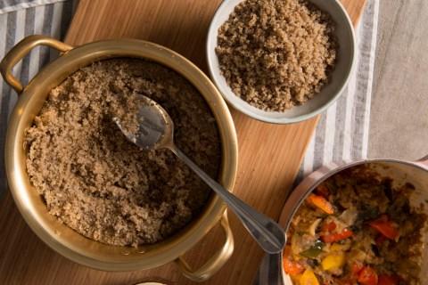 台灣紅藜藜麥簡單水煮養身食譜