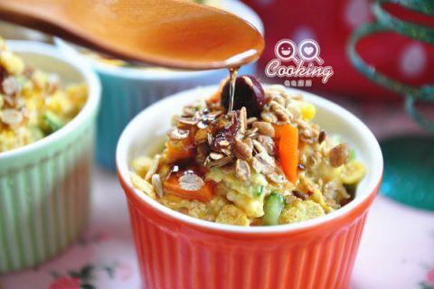 【燕麥片食譜】 紅藜沙拉燕麥~健康台灣紅藜做出的美味佳餚!