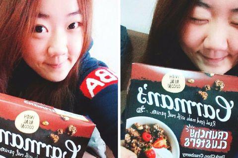 【麥片女孩 澔澔】夢幻口味 ❤ 澳洲 Carman's 蔓越莓黑巧克力燕麥脆穀片