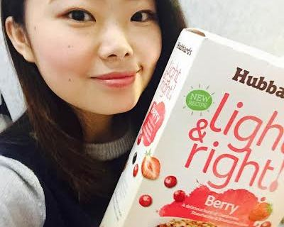 【麥片女孩 Naomi 】天天吃 Light & Right 繽紛莓果麥片,氣色好到都不用擦腮紅了