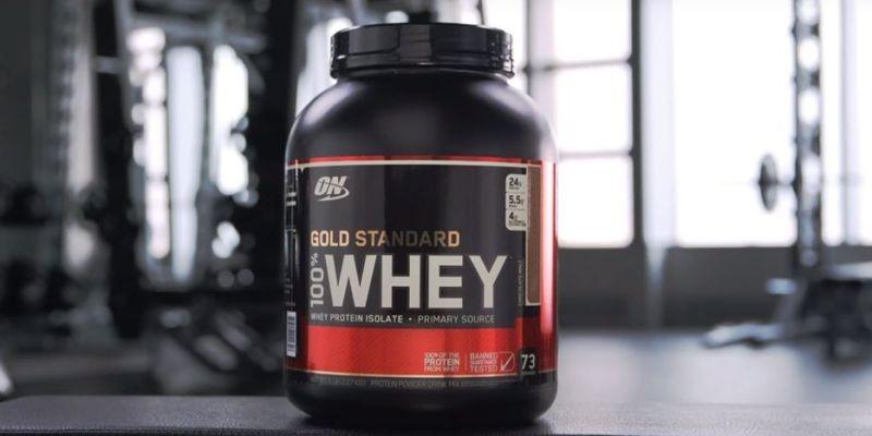 健身新手最推薦入手的第一罐乳清蛋白