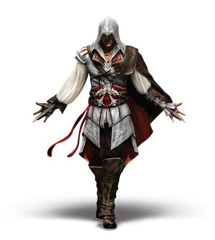 Visuel: Personnage principal Ezio
