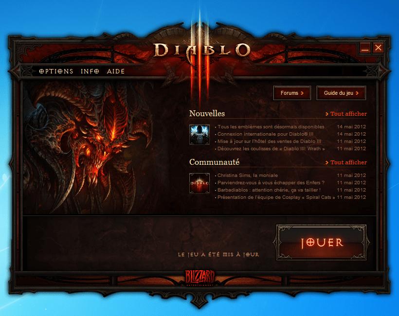 Diablo 3 Launcher
