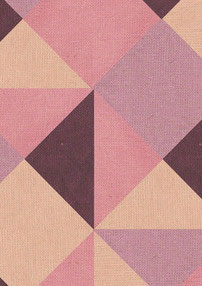 driehoeken patroon kleurstof