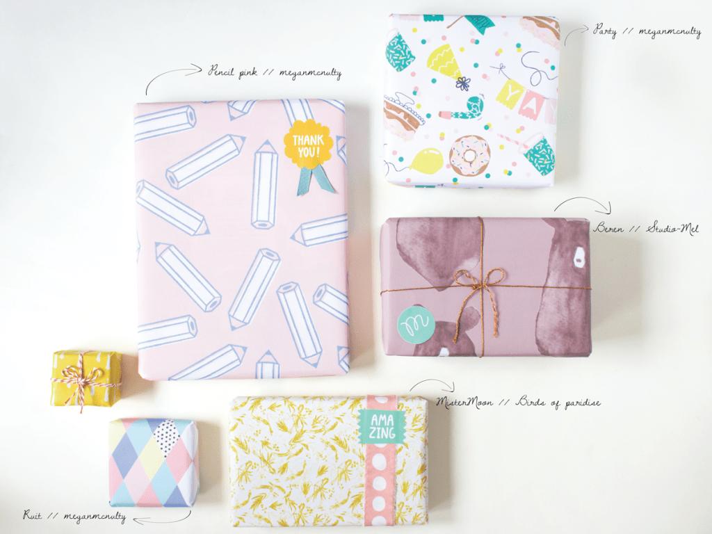 Beautifull giftwrap designs