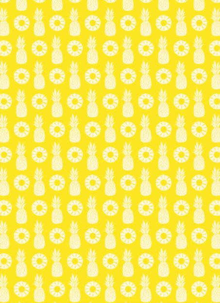 printfunfactory yellow pineapple