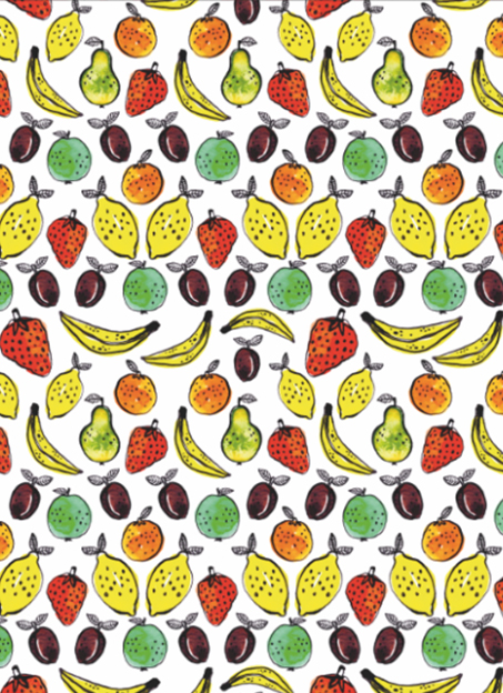 Pattern: Fruit by Veronique de Jong