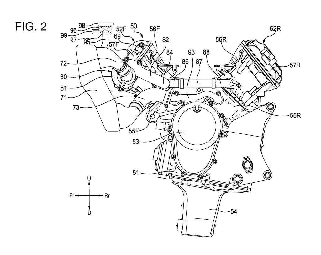 Honda V4 Superbike Engine Revealed In Patent Documents