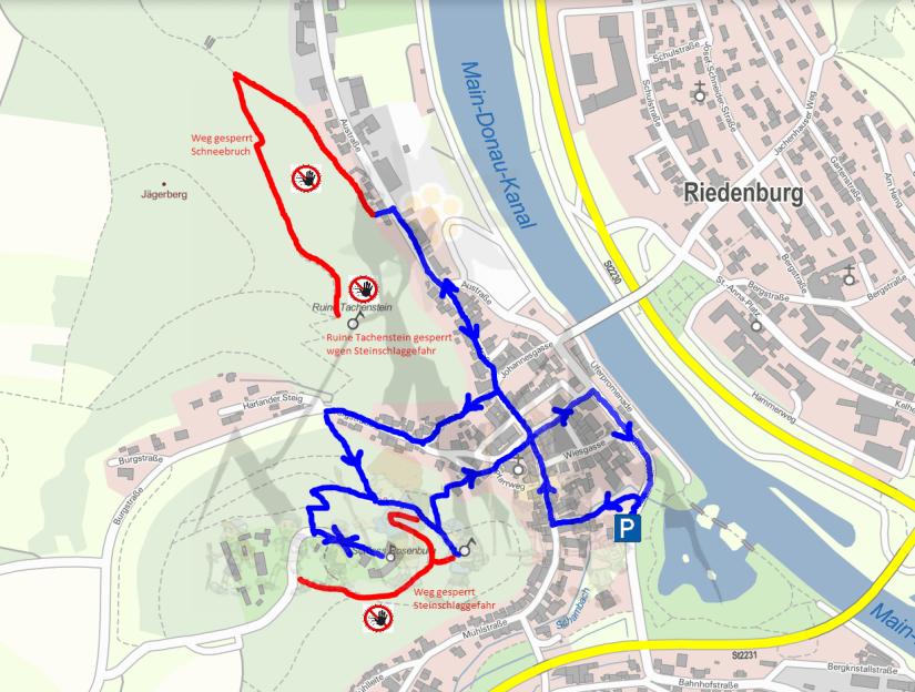 Riedenburg_Plan
