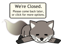 Live Chat closed