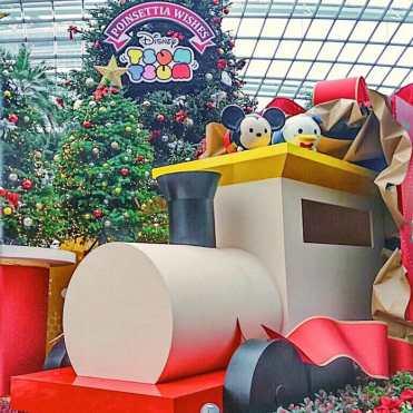 新加坡濱海灣花園迪士尼 tsum tsum 陪你一起度過 2019 跨年