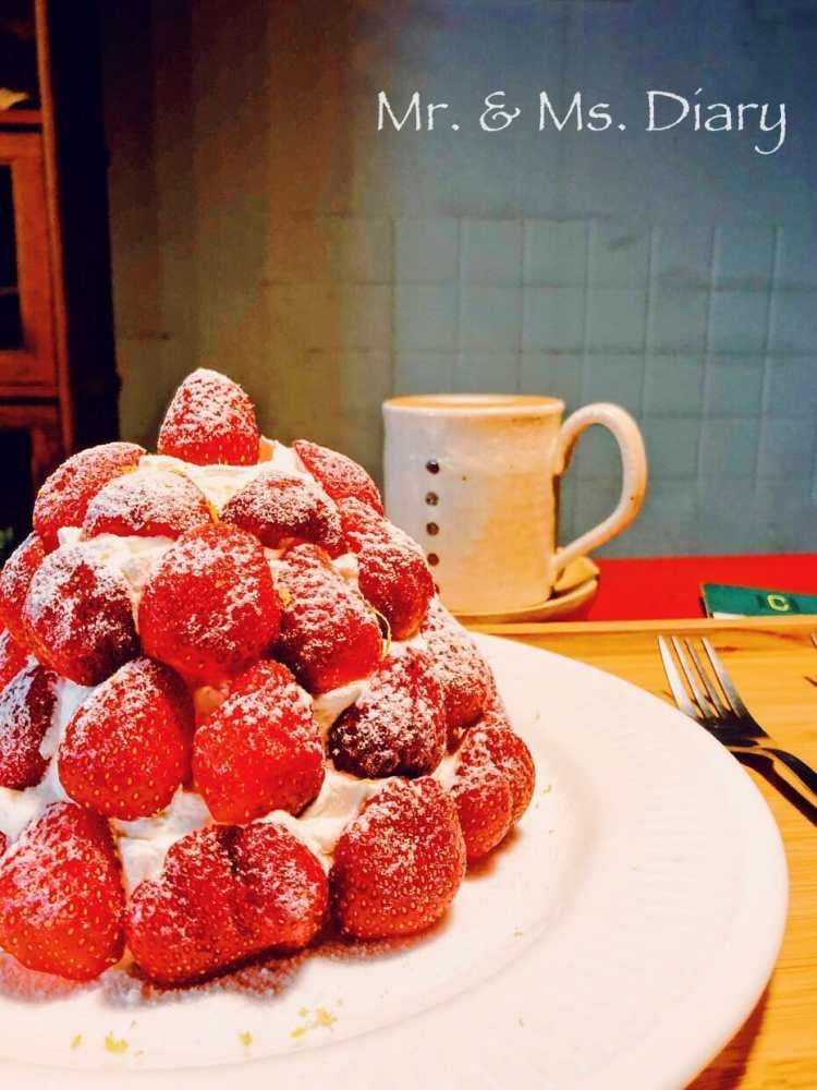 台南下午茶早午餐推薦!Kokoni Green 冬季必吃草莓舒芙蕾