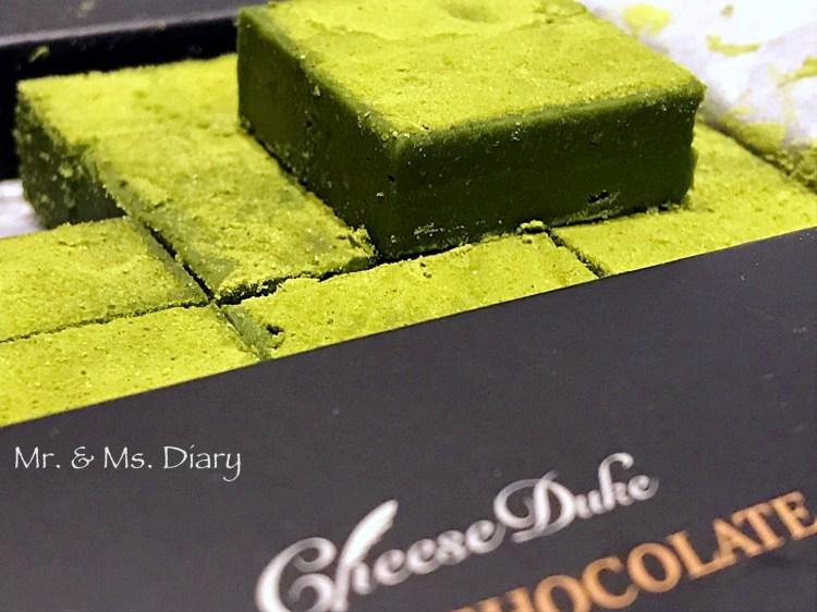 起士公爵新品靜岡極濃抹茶生巧克力,淺甜帶苦,午後的日本時光 1