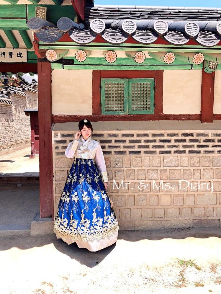四天三夜首爾行程規劃,穿著美麗韓服逛昌德宮後苑,到新村吃超有名站著吃烤肉! 22