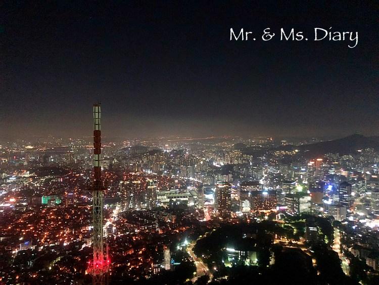 韓國特色咖啡小館 Moonee,登上首爾塔前,先到南山山腰看夕陽 1