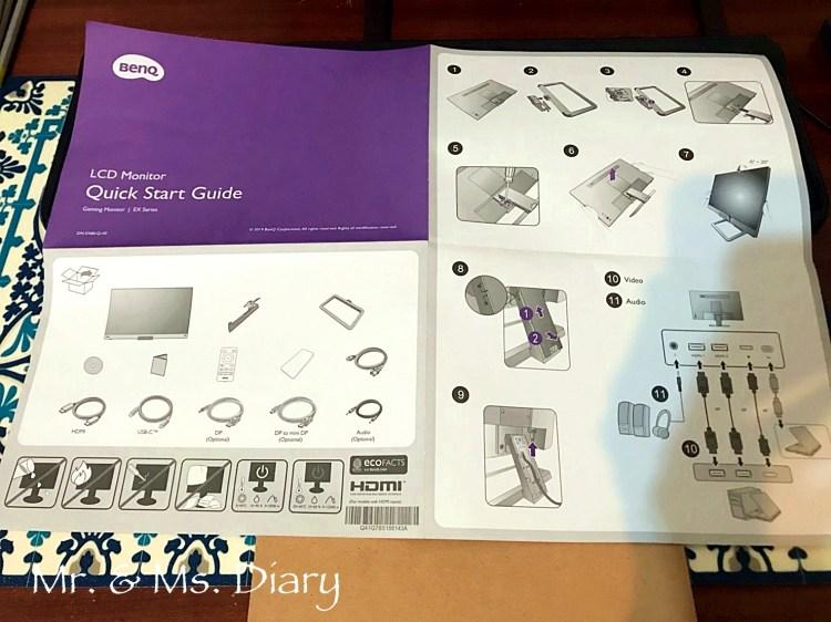 BenQ 27 吋護眼螢幕 EX2780Q,獨家類瞳孔技術及2.1聲道設備,讓看片、剪片都能舒服操作 1