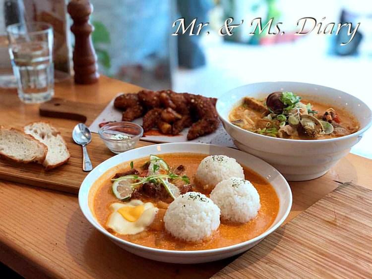 慢牛,高雄巨蛋必吃早午餐,超美味牛肉料理與馬來西亞特色麵