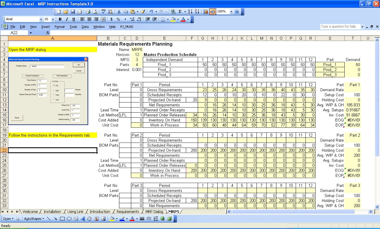 Different Types Of Production Planning Software