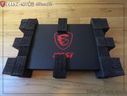 Boîte du MSI GS63 7RD Stealth