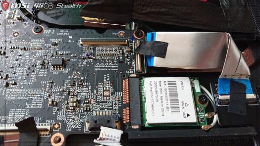 Carte Wifi - MSI GS63 7RD Stealth