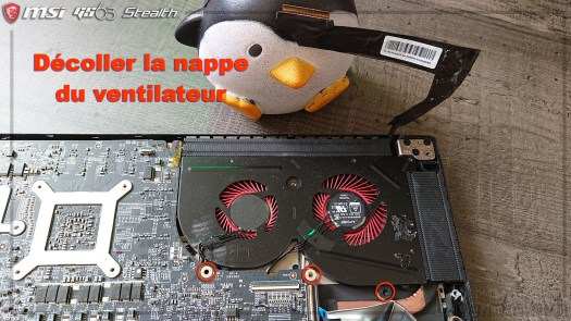 Ventilateur GPI - MSI GS63 7RD Stealth