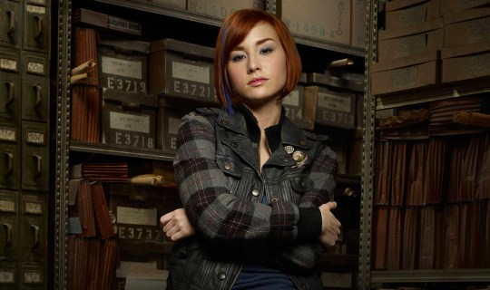 Allison Scagliotti as Claudia Donovan in SyFy's Warehouse 13