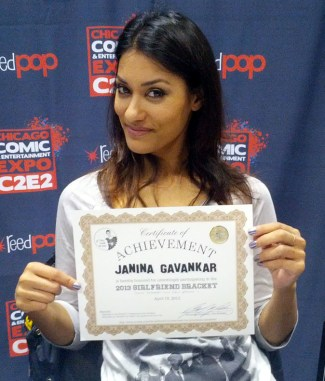 Janina was just happy to participate!