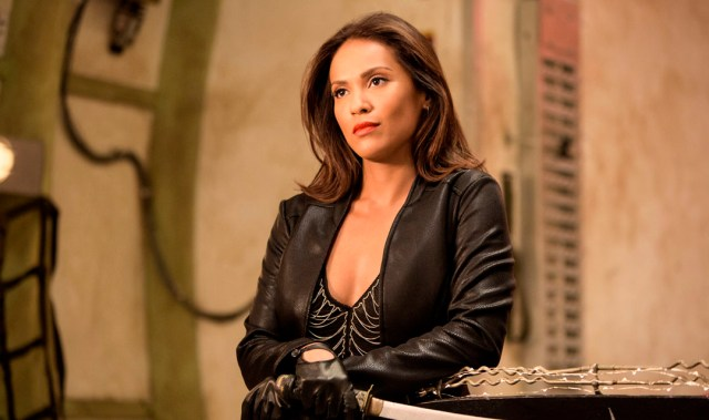 Lesley Ann-Brandt as Lamia in ABC1's The Librarians