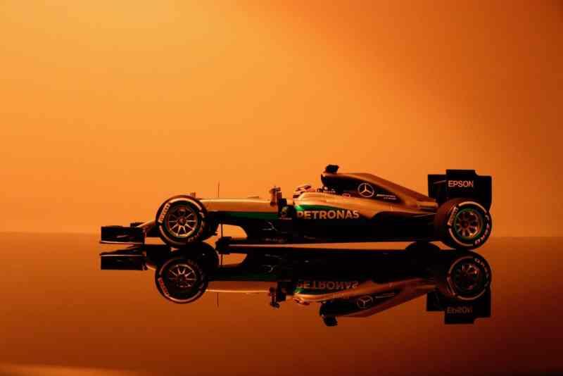 Petronas coche fórmula 1