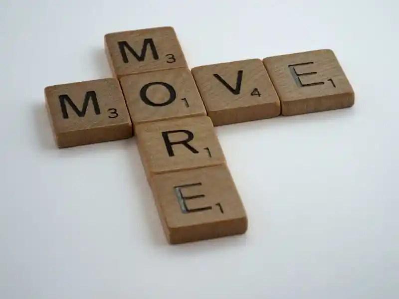muévete más
