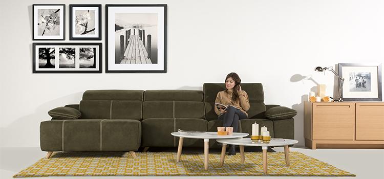 Colección de sofás KATIA de Gamamobel
