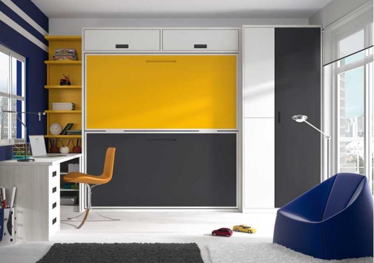 Las camas consejos para amueblar juveniles iii blog - Habitaciones juveniles camas abatibles horizontales ...