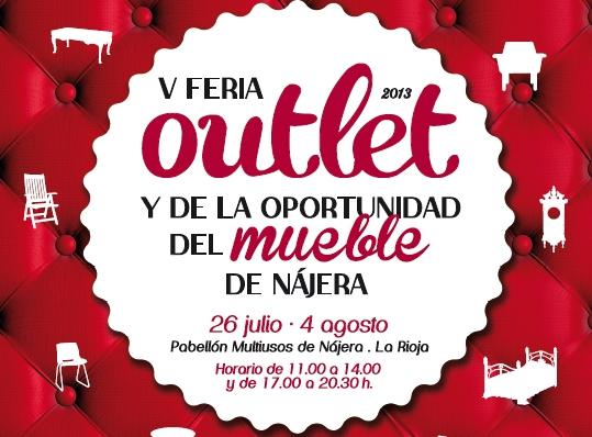 Feria Outlet de Muebles en Nájera, La rioja.