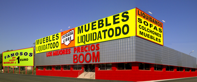 Conforama inaugura hoy su mayor tienda en espa a y no - Muebles boom barcelona ...
